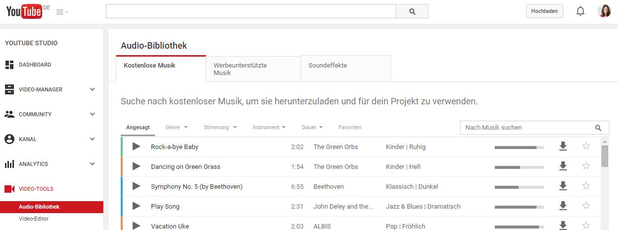 kostenlose musik download