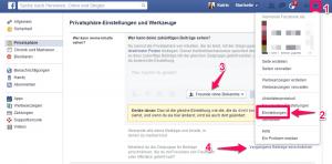 Tipp: Privatsphäre-Einstellungen mit Facebook-Listen