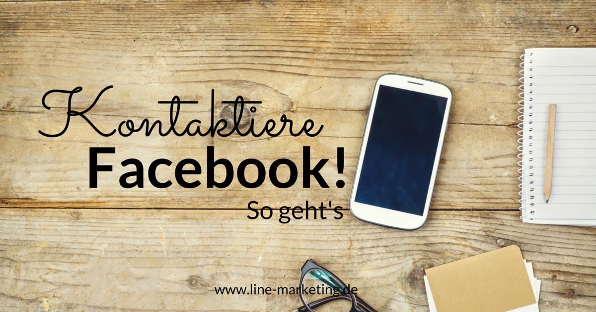 Facebook Hotline Deutschland