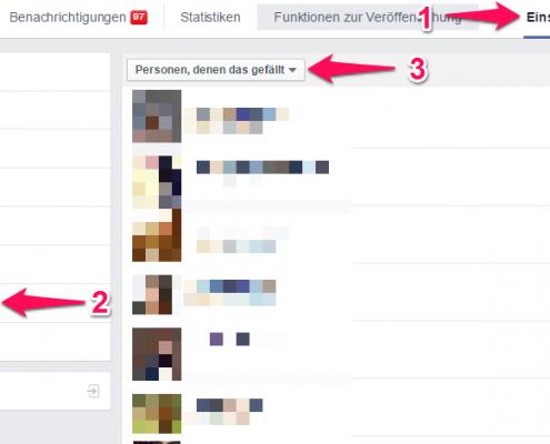 Fan auf Facebook-Seite blockieren