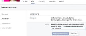 facebook namen ändern