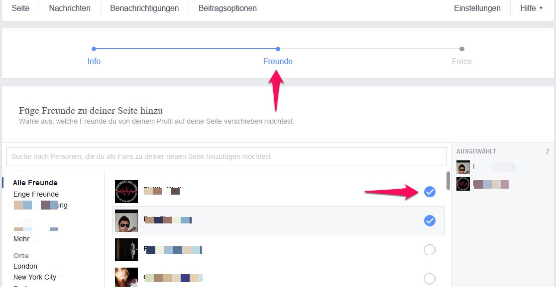 Finden personen auf ohne namen facebook Facebook