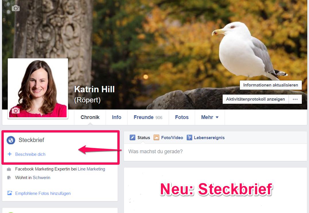 Steckbrief Facebook