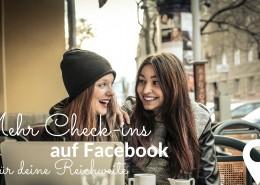 Check-ins auf Facebook