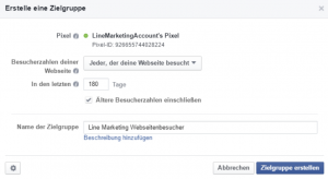 custom audience auf Facebook