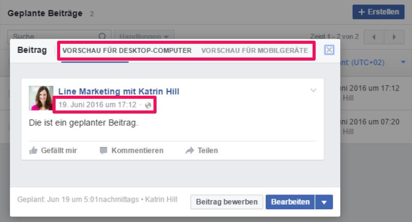 Unterschied Facebook Werbeanzeige Und Beitragsbewerbung