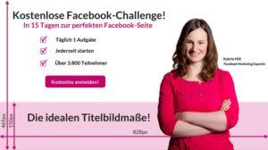 Das ideale Facebook Titelbild