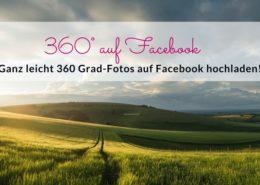 360 Grad Foto auf Facebook