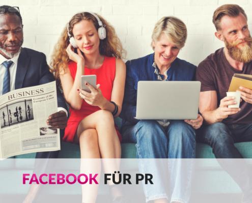 Facebook für PR nutzen