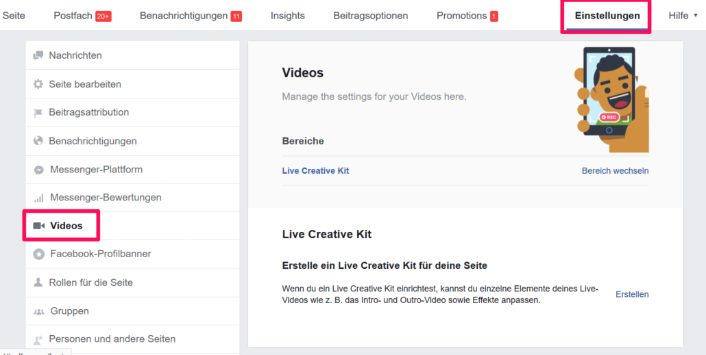 Facebook Creator Kit