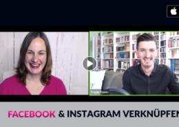 Facebook mit Instagram verknüpfen