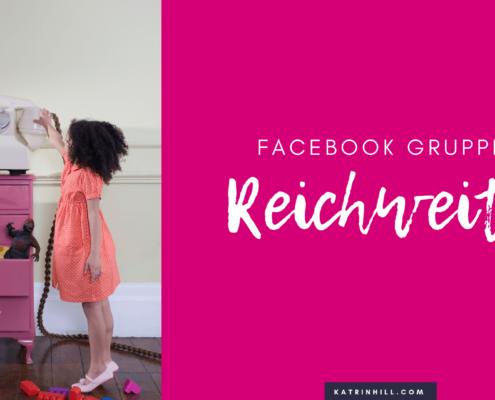 Reichweite in Facebook-Gruppen