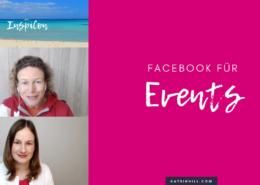 Facebook für Events nutzen