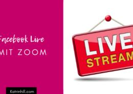 Facebook Live Stream mit Zoom