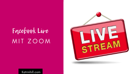 Facebook Live Stream mit Zoom