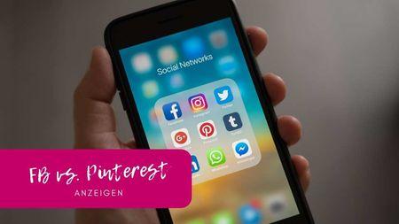 Facebook-Ads vs. Pinterest